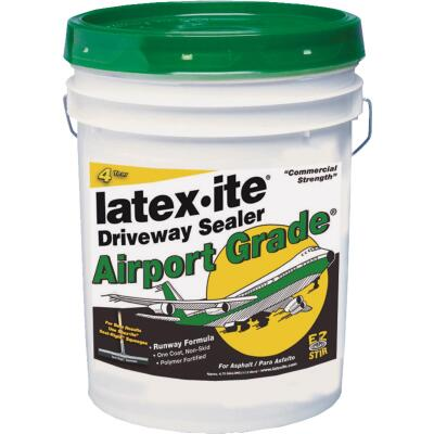Latex-ite Airport Grade 4.75 Gal. Blacktop Driveway Sealer