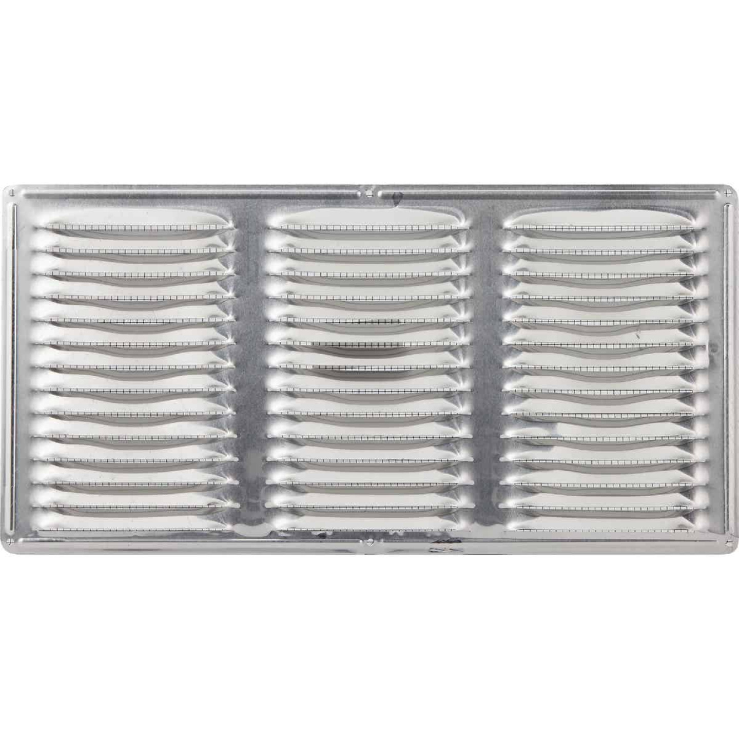 Air Vent 16 In. x 8 In. Mill Aluminum Under Eave Vent Image 2