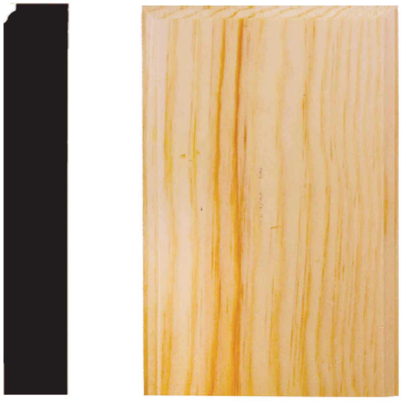 House of Fara 7/8 In. W. x 3-1/2 In. H. x 6 In. L. Pine Plinth Block Image 1
