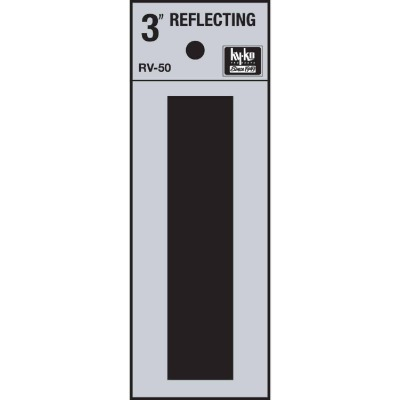 Hy-Ko Vinyl 3 In. Reflective Adhesive Letter, I