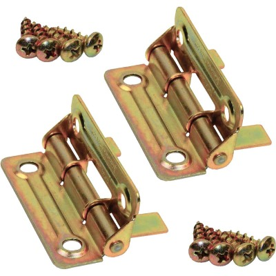 Johnson Hardware Brass Hinge (2 Count)