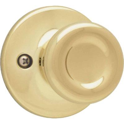 Kwikset Polished Brass Tylo Dummy Door Knob