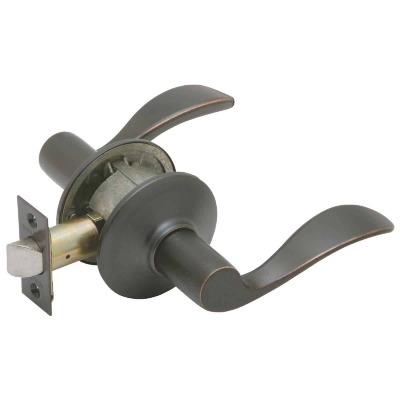 Schlage Aged Bronze Accent Passage Door Lever