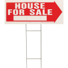 Hy-Ko Corrugated Plastic Sign, House For Sale Image 1