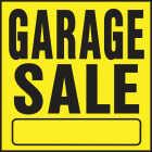 Hy-Ko Heavy Gauge Plastic Sign, Garage Sale Image 1