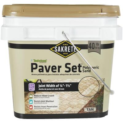 Sakrete Paver Set Polymeric Sand Up To 56 Sq Ft Tan Sand