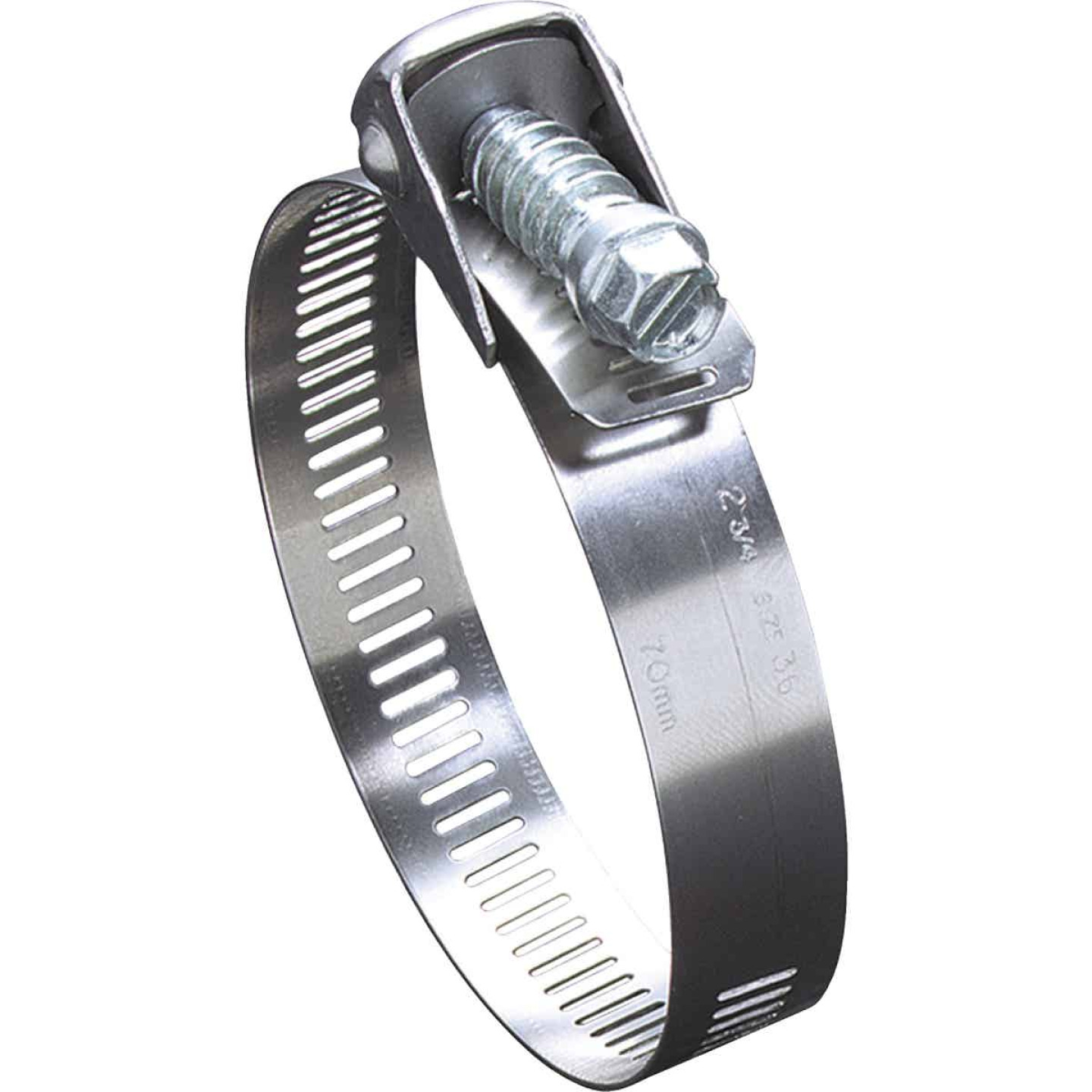 Ideal 4 In. Zinc-Plated Carbon Duct Clamp Image 1