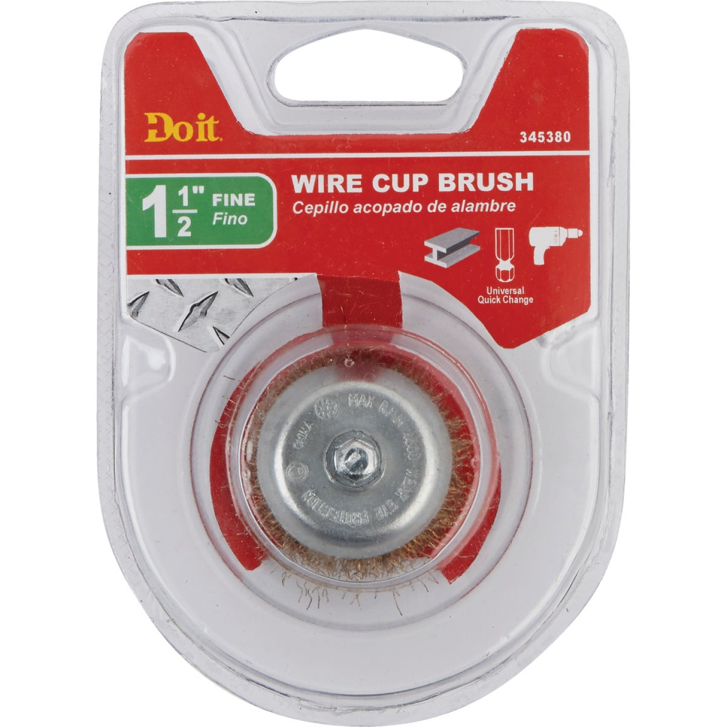Do it 1-1/2 In. Fine Drill-Mounted Wire Brush Image 2