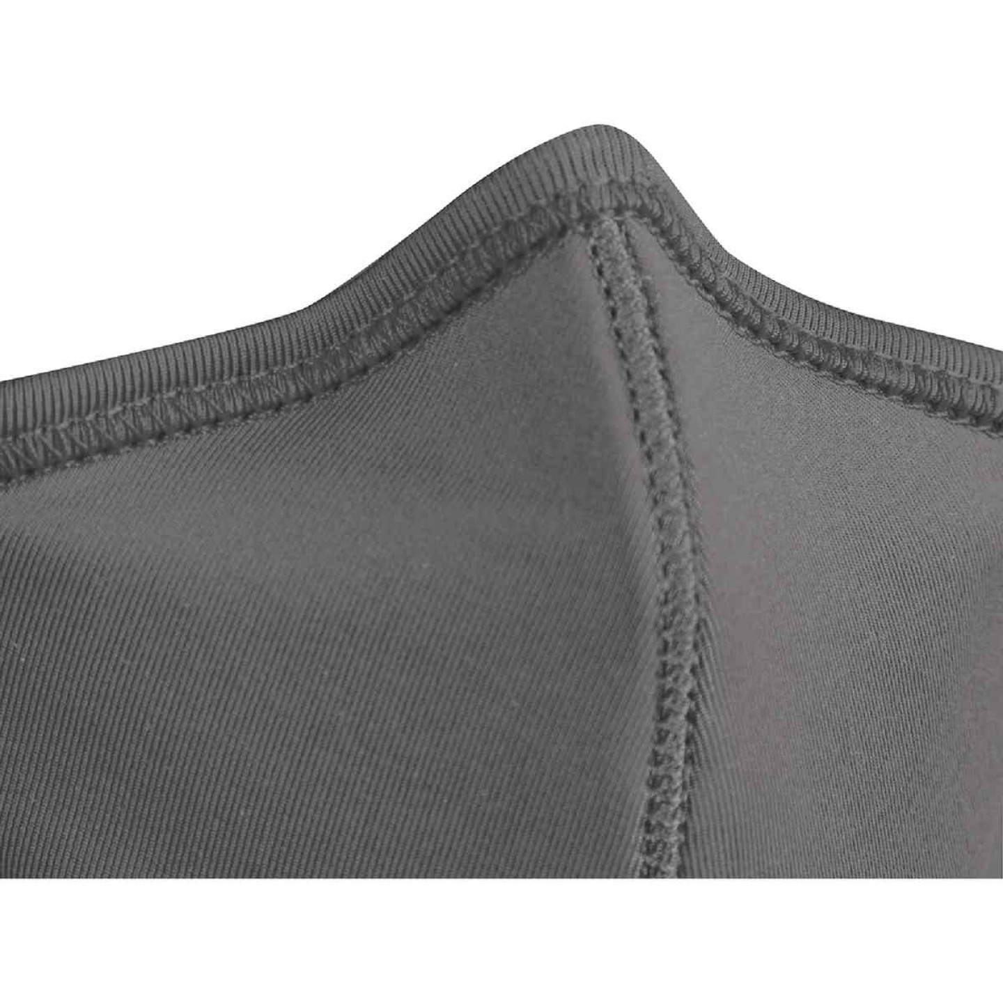Milwaukee Gray 2-Layer Washable Dust & Face Mask (3-Pack) Image 6
