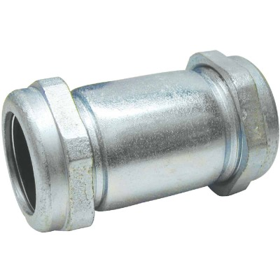 B&K 1/2 In. x 4 In. Compression Galvanized Coupling