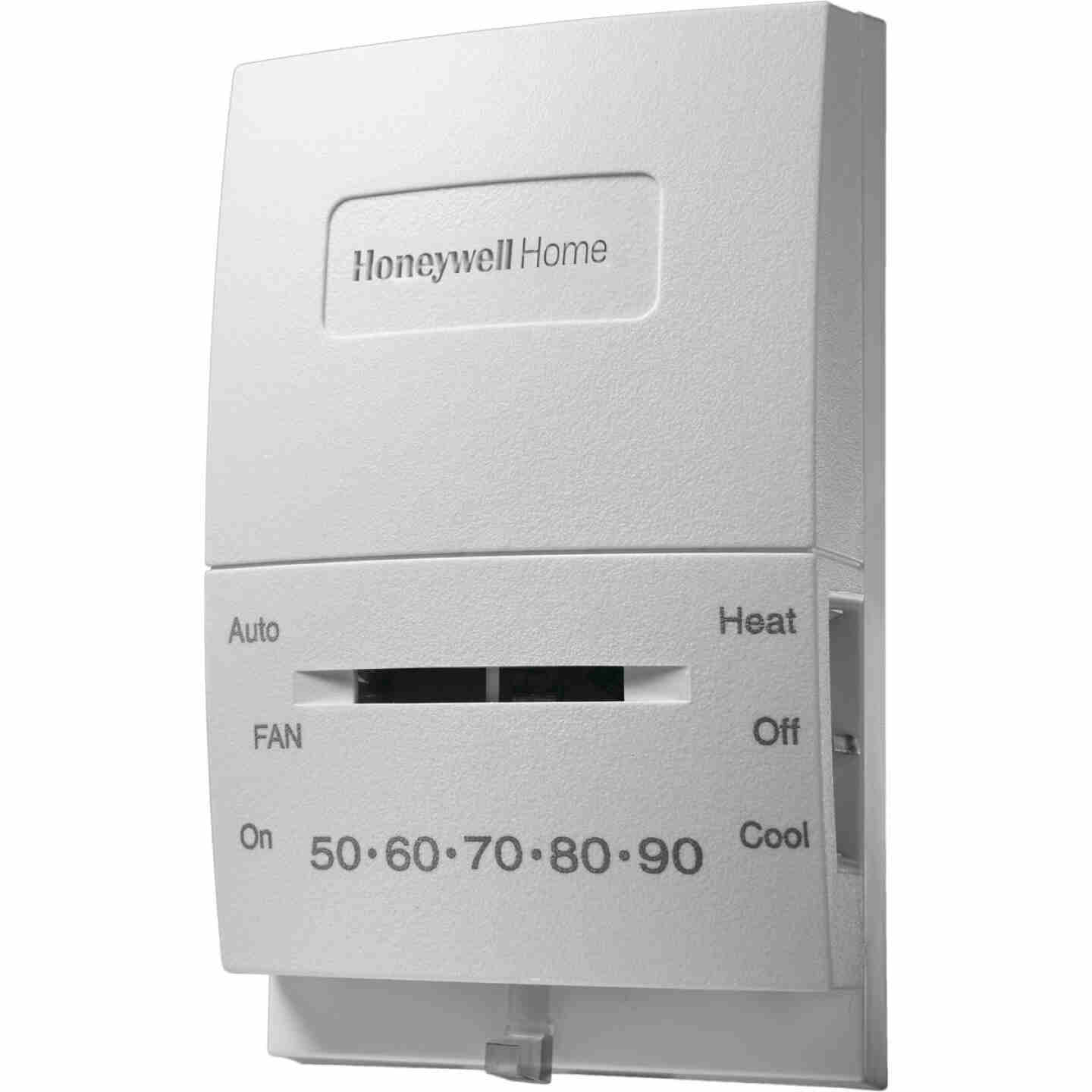 Honeywell Home 55 F to 85 F Off-White Mechanical Thermostat Image 2