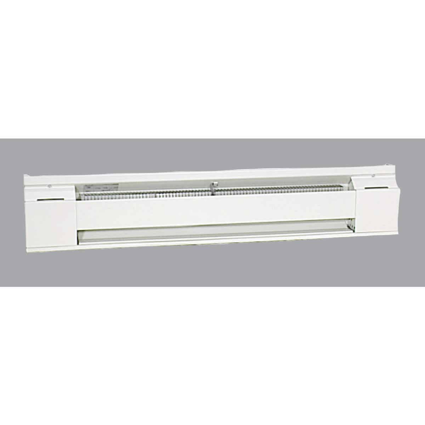 Fahrenheat 36 In. 750-Watt 240-Volt Electric Baseboard Heater, Northern White Image 1