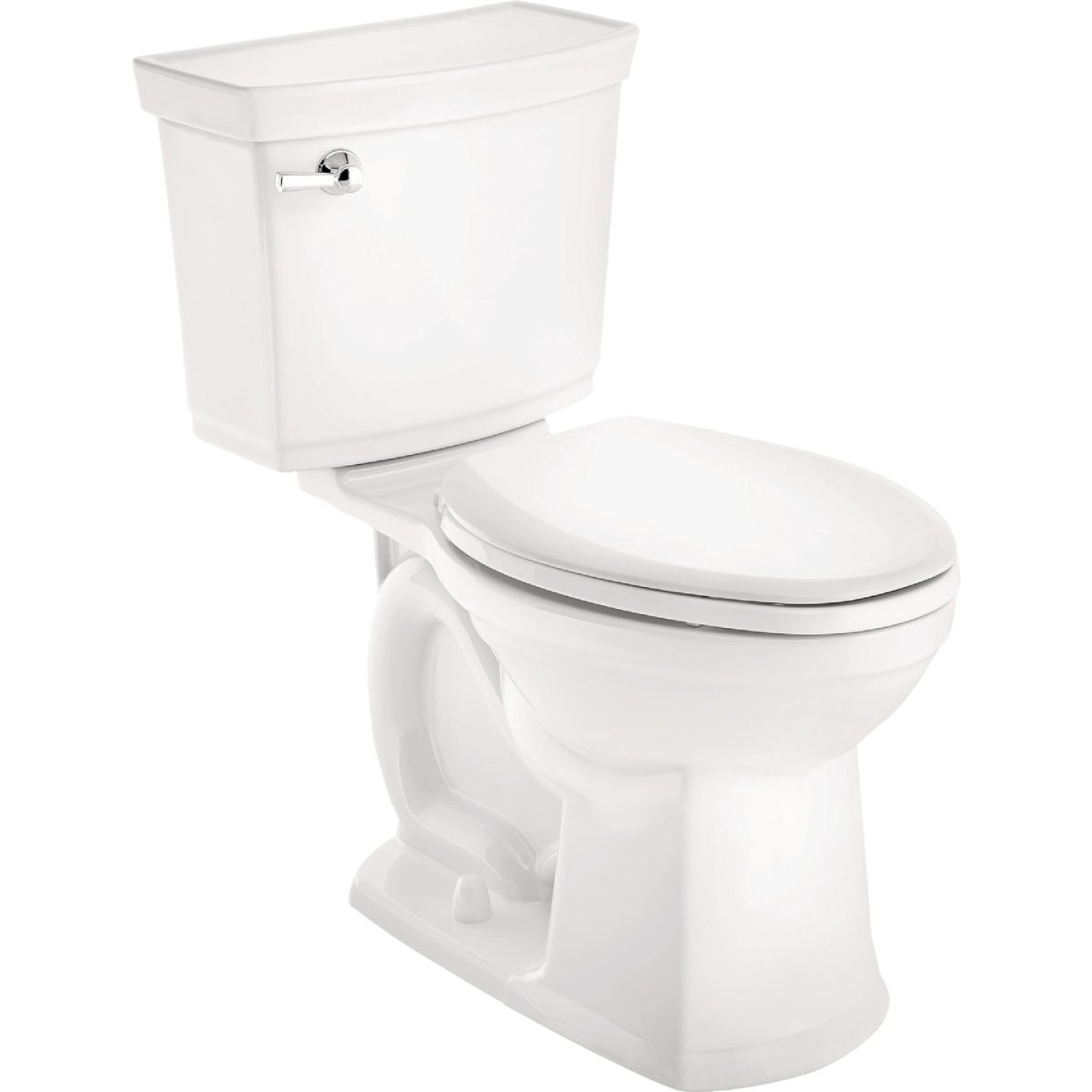 American Standard Astute VorMax Right Height White Elongated Bowl 1.28 GPF Complete Toilet Image 1