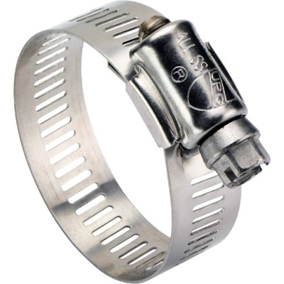 Ideal 3/8 In. - 7/8 In. All Stainless Steel Marine-Grade Hose Clamp