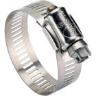 Ideal 1-1/4 In. - 2-1/4 In. All Stainless Steel Marine-Grade Hose Clamp Image 1