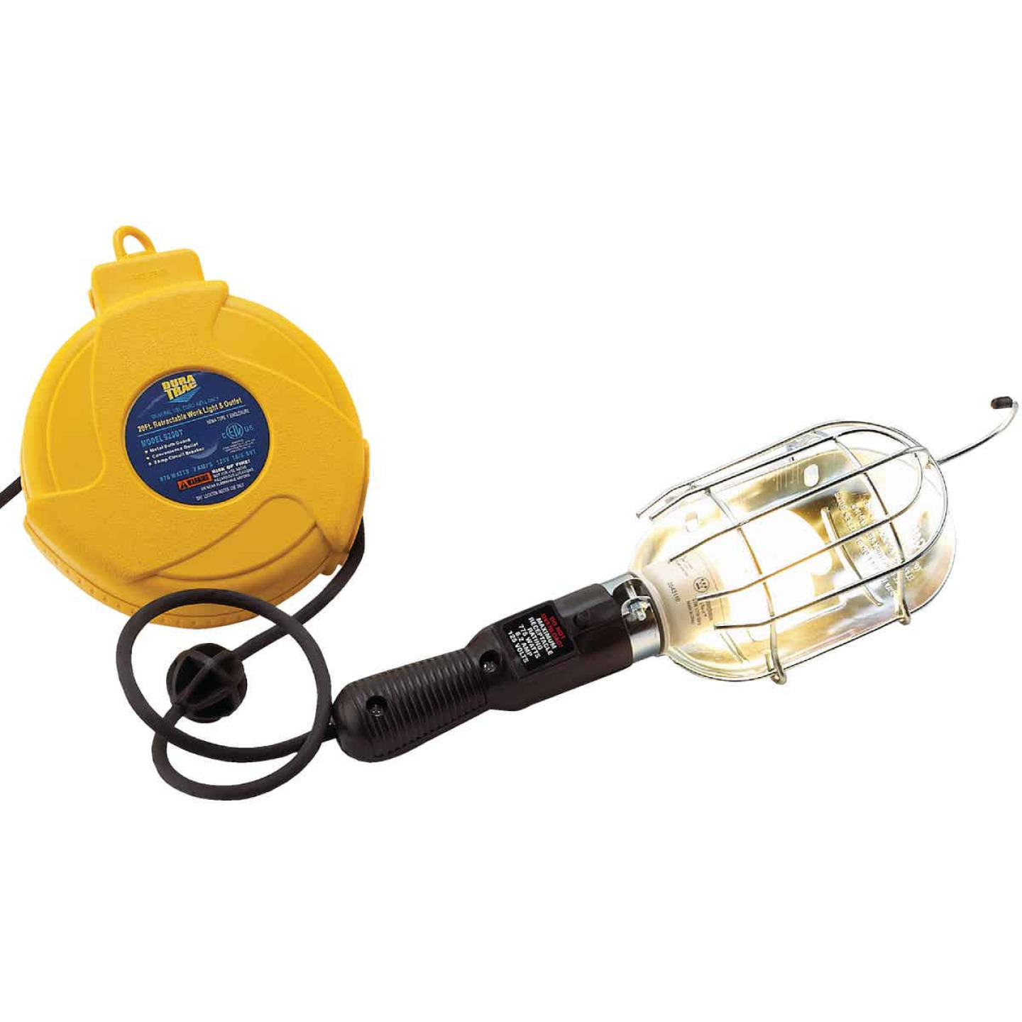 Alert Stamping 75W Incandescent Trouble Light with 20 Ft. Power Cord Image 4