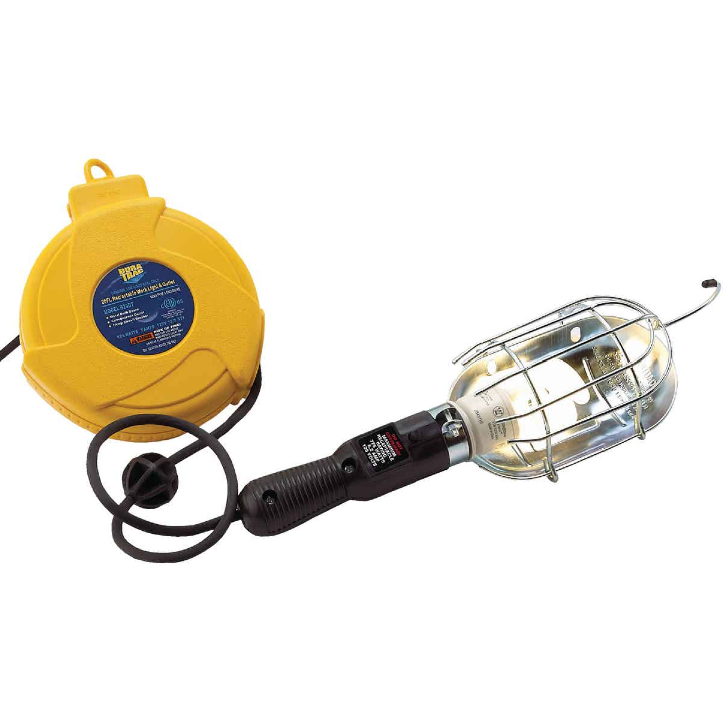 Alert Stamping 75W Incandescent Trouble Light with 20 Ft. Power Cord Image 5