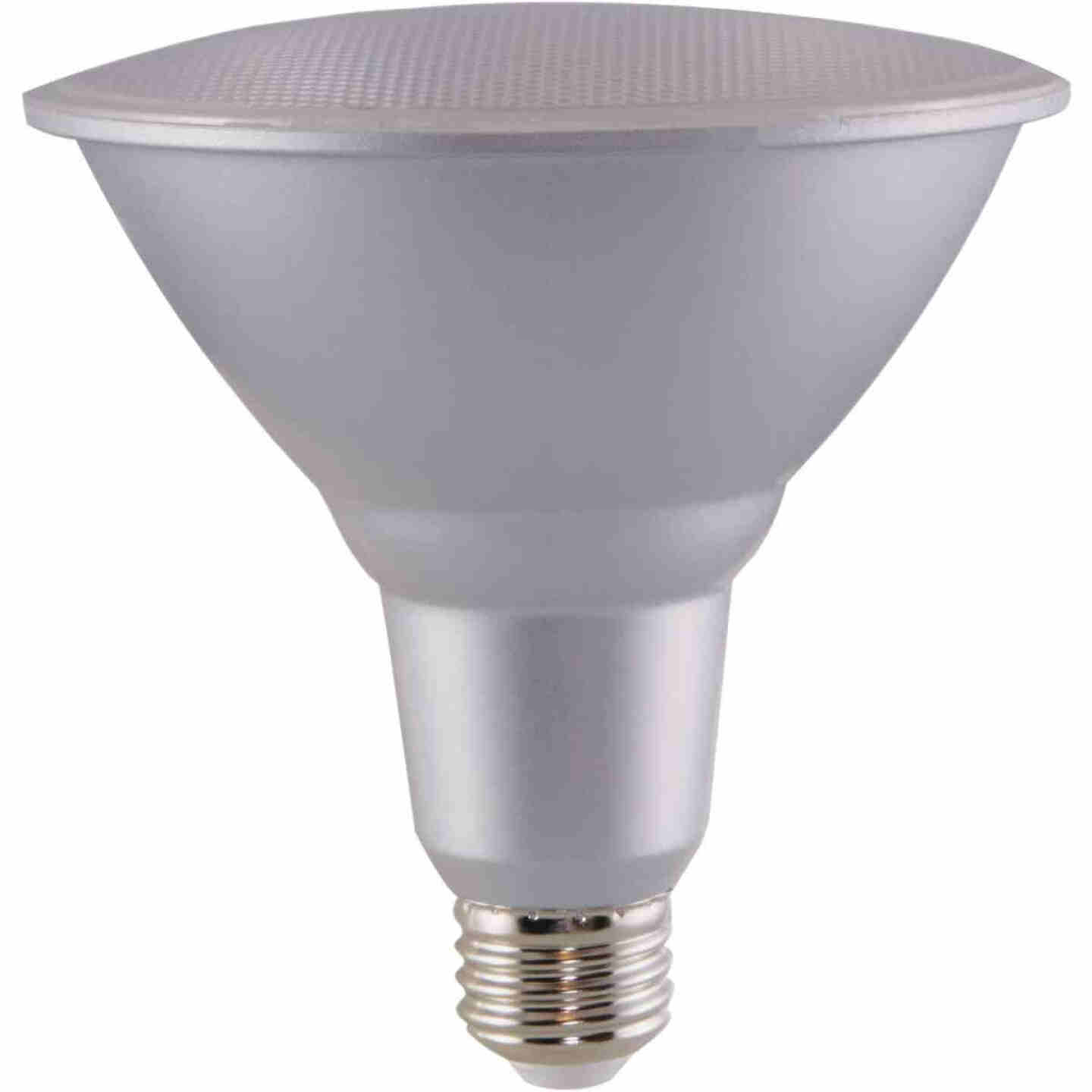 Satco Nuvo 90W Equivalent Natural Light PAR38 Medium Dimmable LED Floodlight Light Bulb Image 4