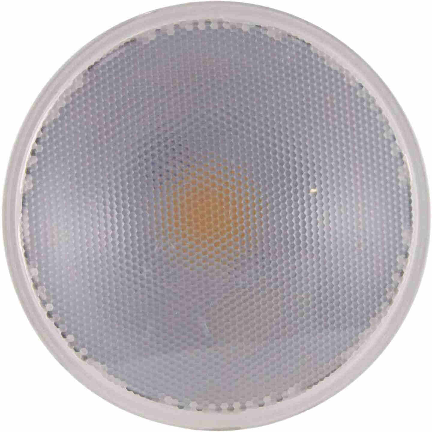 Satco Nuvo 90W Equivalent Natural Light PAR38 Medium Dimmable LED Floodlight Light Bulb Image 3