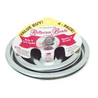 "Range Kleen Electric (2) 6"" & (2) 8"" Style A Round Chrome Drip Pan Image 1"