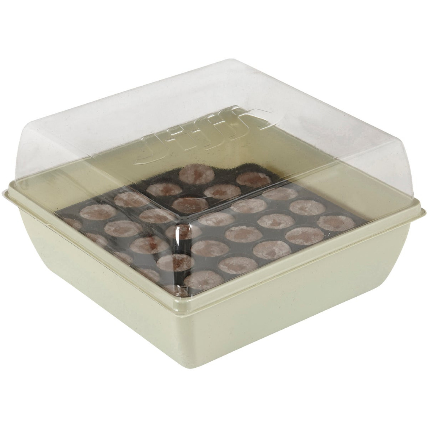 Jiffy 34-Cell 11 In. x 11 In. Self Watering Greenhouse Seed Starter Kit Image 3