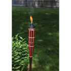 Tiki Royal Polynesian 5 Ft. Brown Bamboo Patio Torch Image 3