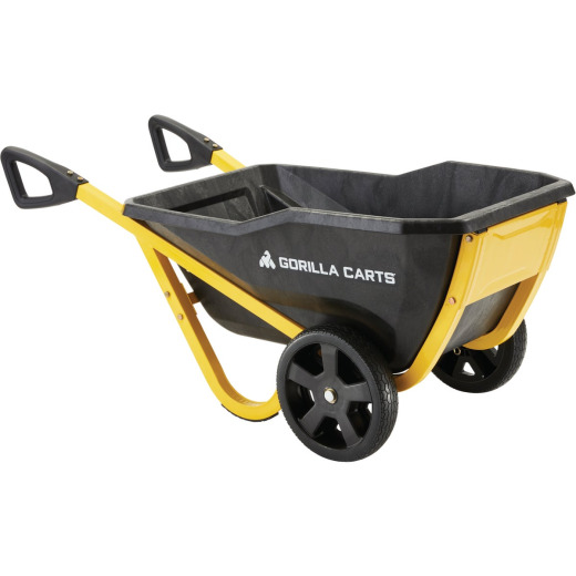 Gorilla Carts 7 Cu. Ft. 600 Lb. Evolution Garden Cart