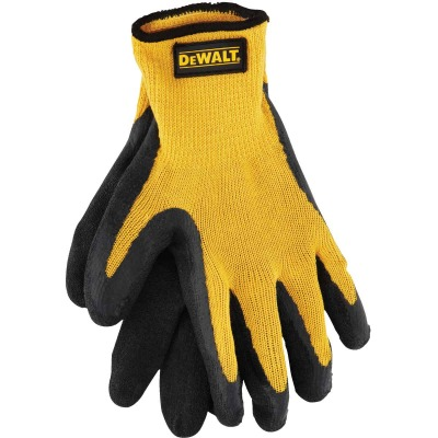 DeWalt Men's Large Gripper Rubber Coated Glove