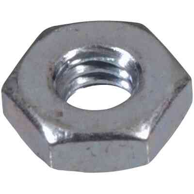 Hillman #8 32 tpi Grade 2 Zinc Hex Machine Screw Nut (100 Ct.)