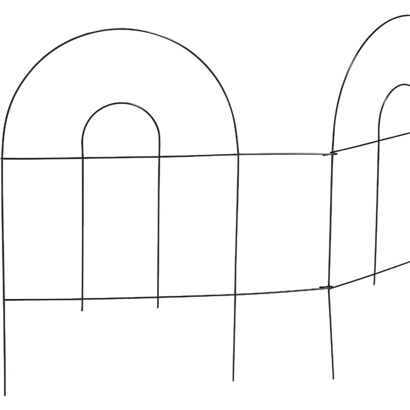 Best Garden 8 Ft. Wire Folding Fence Image 4