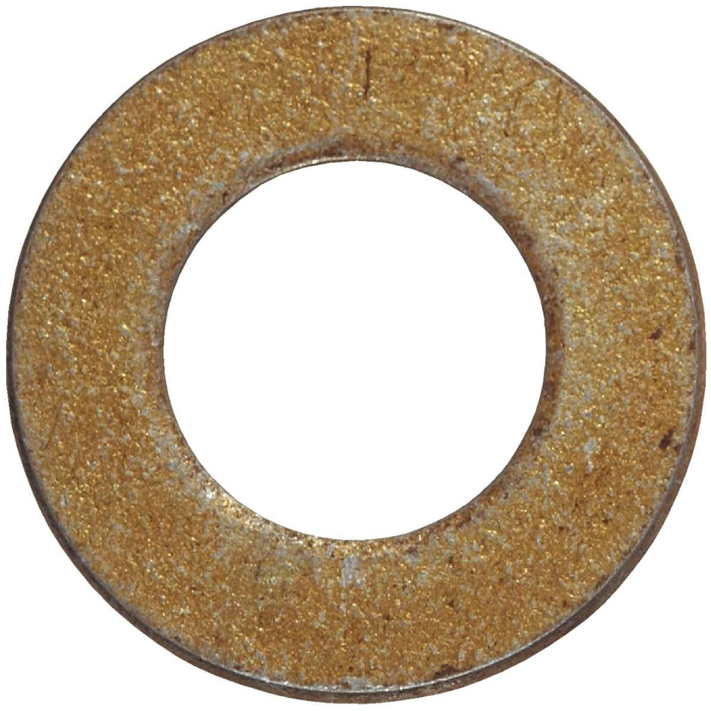 Hillman 1/2 In. SAE Hardened Steel Yellow Dichromate Flat Washer (50 Ct.) Image 1