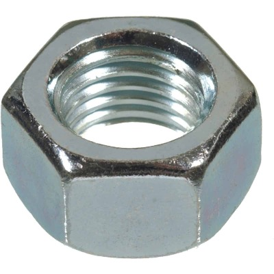 Hillman 1/4 In. 20 tpi Grade 5 Zinc Hex Nuts (100 Ct.)