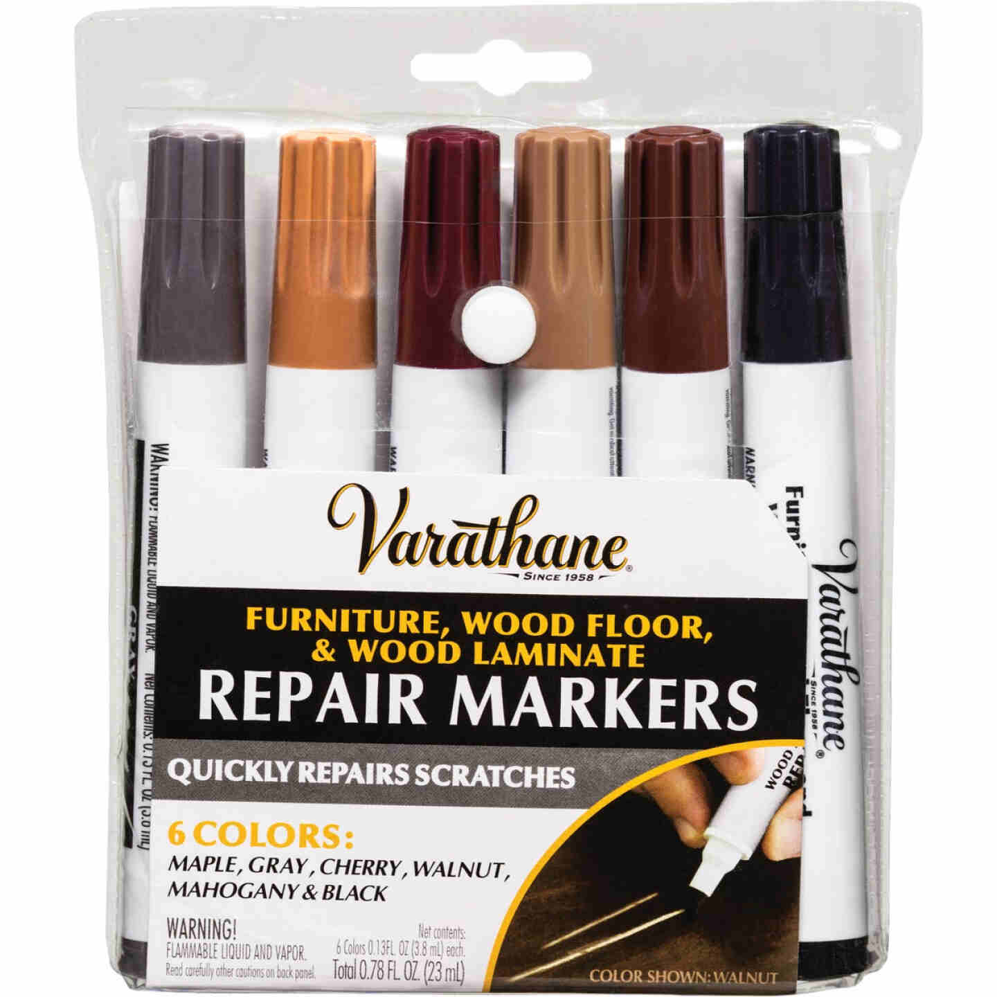 Varathane Wood Floor, Furniture & Laminate Repair Marker (6-Count) Image 1