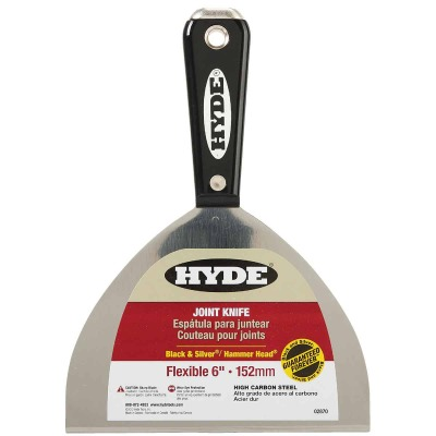 Hyde Black & Silver 6 In. High-Carbon Steel Joint Knife