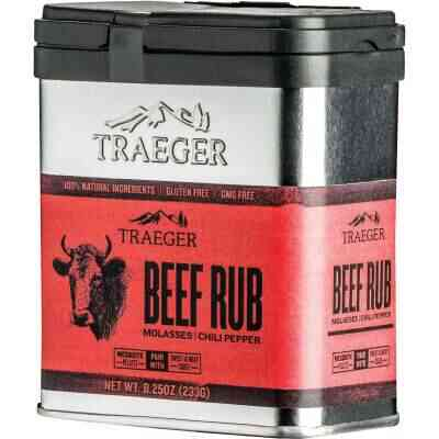 Traeger 8.25 Oz. Molasses & Chili Pepper Flavor Beef Rub